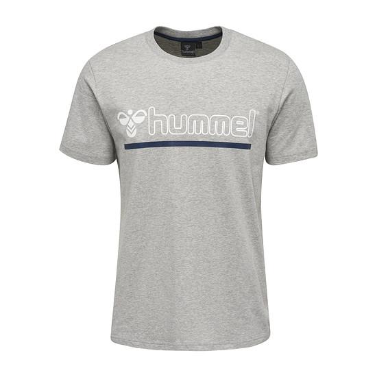 hummel T-Shirt Brick grau