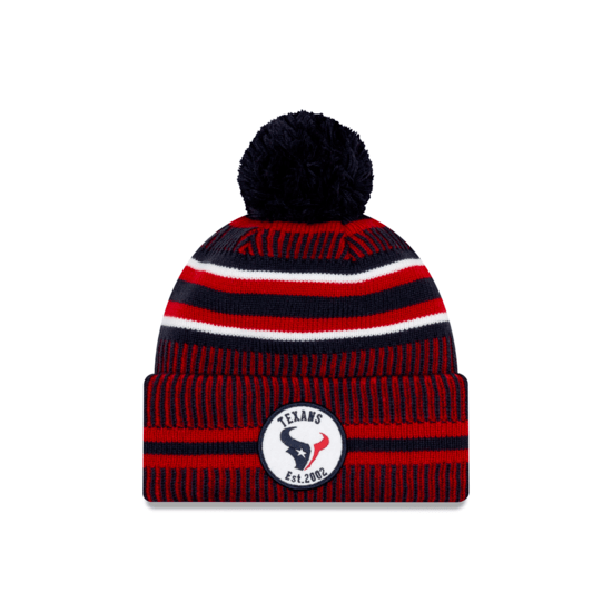 New Era Houston Texans Beanie On Field Sport Knit HM schwarz