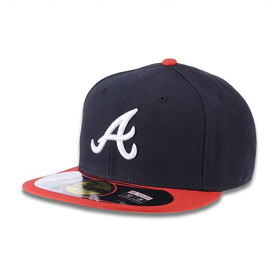 New Era Cap Authentic Atlanta Braves On Field rot/blau