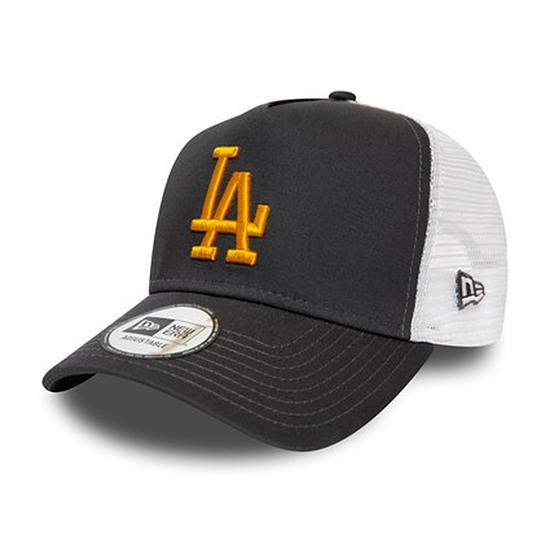 New Era Los Angeles Dodgers Cap Essential Trucker grau
