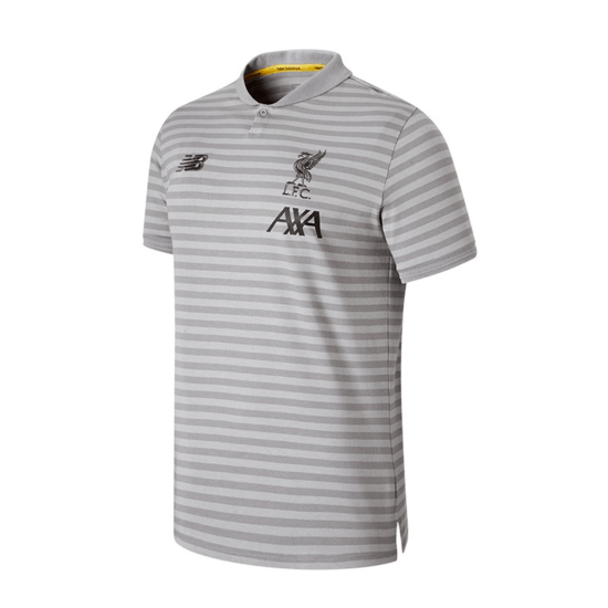 New Balance FC Liverpool Poloshirt Travel anthrazit/schwarz