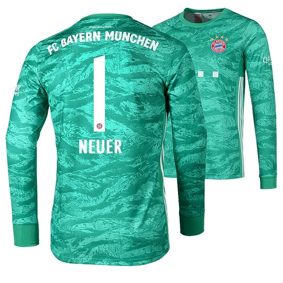 Adidas FC Bayern München Torwart Trikot NEUER 2019/2020 Kinder