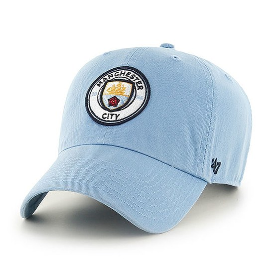 47 Brand Manchester City Cap Clean Up hellblau