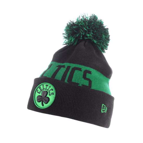 New Era Boston Celtics Beanie Team Tonal Knit Kids grün/schwarz