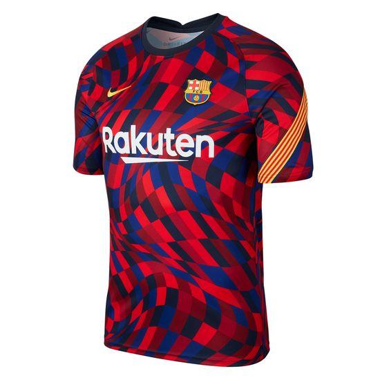 Nike FC Barcelona Trikot Stadion Shirt 2020/2021 Rot