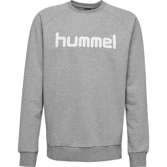 hummel Sweatshirt Go Cotton Logo grau