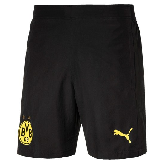 Puma Borussia Dortmund Freizeit Shorts 2020/2021 Schwarz
