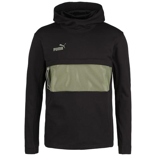 Puma Hoodie Casual FOOTBALL NEXT Schwarz/Grün