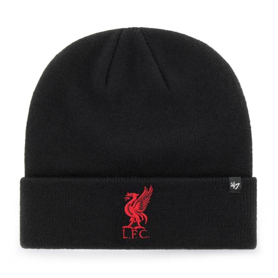 47 Brand FC Liverpool Beanie Raised schwarz