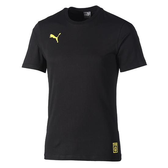 Puma Borussia Dortmund T-Shirt Stencil schwarz
