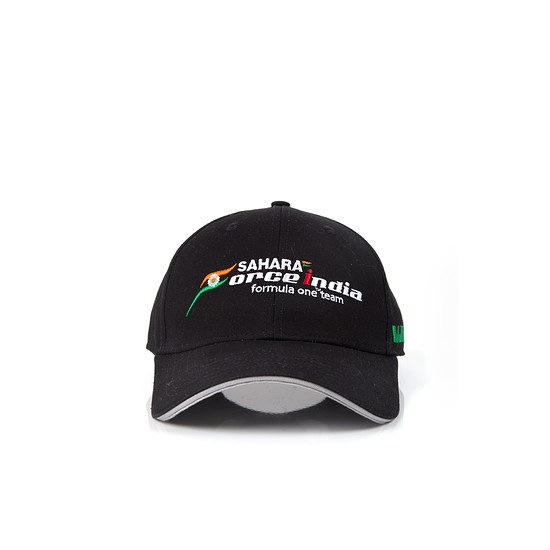 Sahara Force India Cap Team schwarz