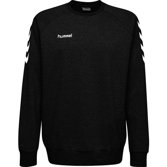 hummel Sweatshirt Go Cotton schwarz