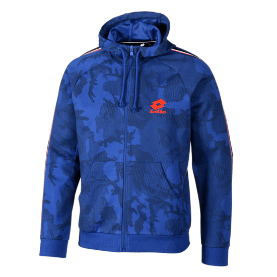 Lotto Kapuzenjacke Athletica HD PRT STP PL royal