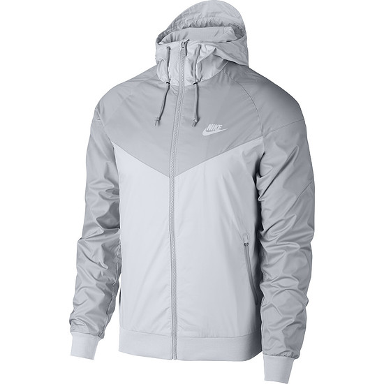 Nike Kapuzenjacke Windrunner Platin/Grau