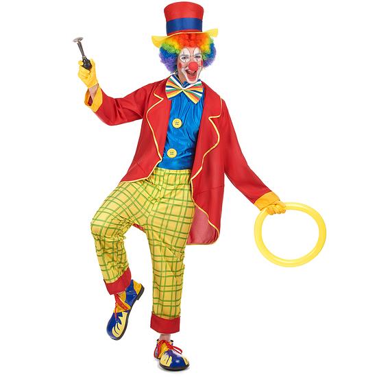 Karnevals- Kostüm Clown Zirkus bunt