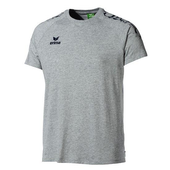 Erima T-Shirt GRAFFIC 5-C grau/navy