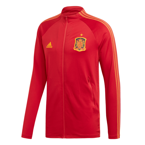 Adidas Spanien ANTHEM Jacket EM 2021 Rot