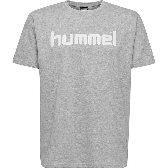 hummel T-Shirt Go Cotton Logo grau
