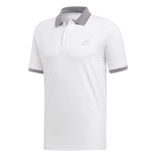 Adidas Poloshirt CLUB SOLID Weiß
