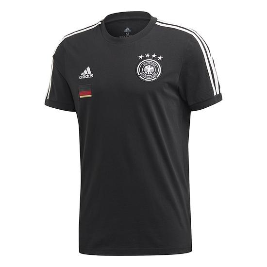 Adidas Deutschland DFB T-Shirt 3S EM 2021 Schwarz