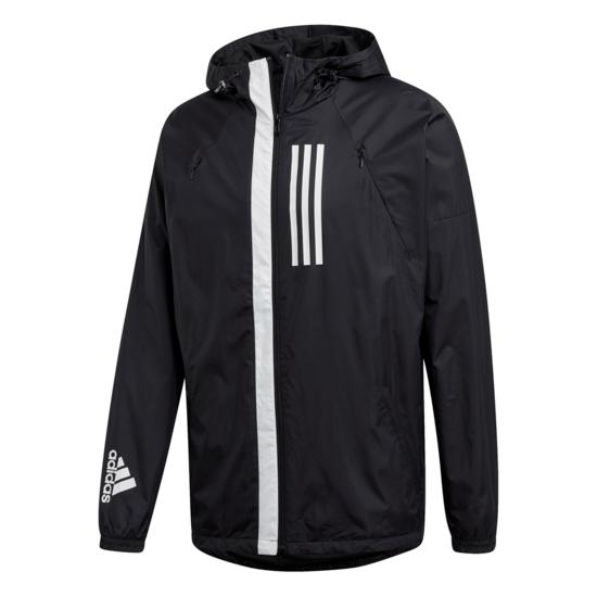 Adidas Windbreaker Jacke W.N.D. Schwarz