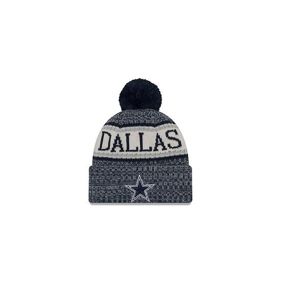 New Era Dallas Cowboys Bommelmütze Sport blau