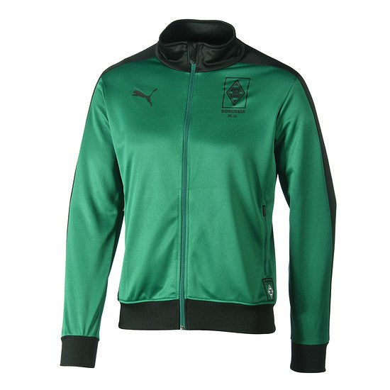 Puma Borussia Mönchengladbach Trackjacke grün