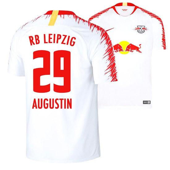 Nike RB Leipzig Heim Trikot AUGUSTIN 2018/2019 Kinder