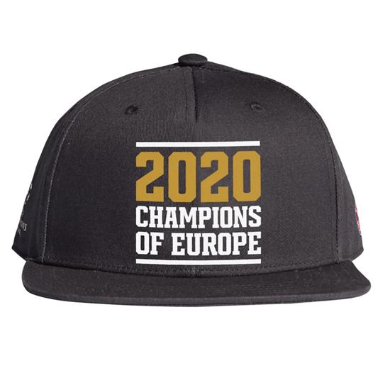 Adidas FC Bayern München Cap CL Sieger 2020 schwarz