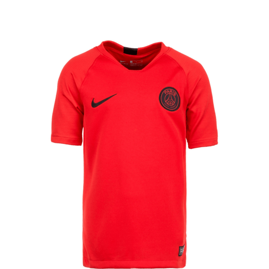 Nike Paris Saint-Germain Trainingsshirt Breathe Kinder rot/anthrazit