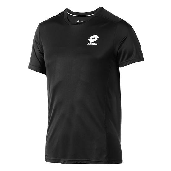 Lotto T-Shirt Smart Logo small schwarz