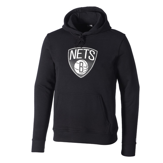 New Era Brooklyn Nets Hoodie Tip Off schwarz