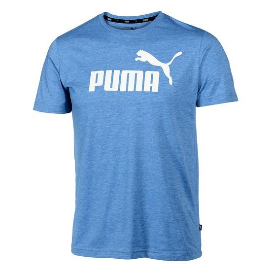 Puma T-Shirt ESS + blaugrau