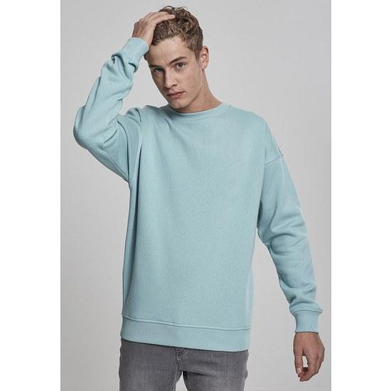 URBAN CLASSICS Sweatshirt Crewneck grünblau
