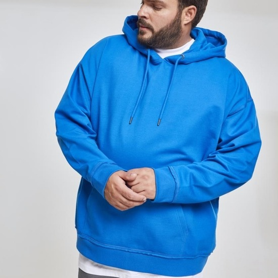 URBAN CLASSICS Hoodie Oversized Sweat hellblau