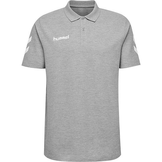 hummel Poloshirt Cotton Logo grau