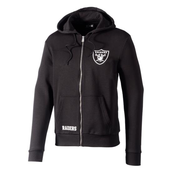 New Era Oakland Raiders Kapuzenjacke Team Logo schwarz