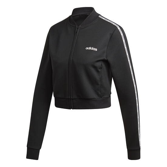 Adidas Trainingsjacke Core Linear Damen schwarz