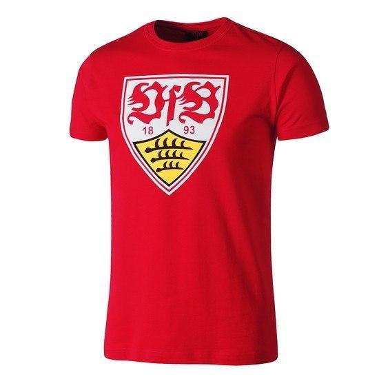 VfB Stuttgart T-Shirt WAPPEN Rot