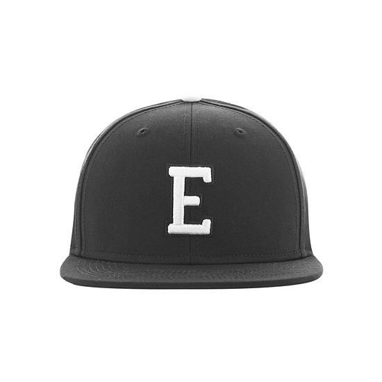 MasterDis Snapback Cap Letter E schwarz