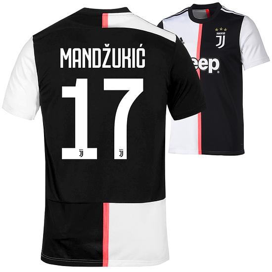 Adidas Juventus Turin Trikot MANDŽUKIĆ 2019/2020 Heim