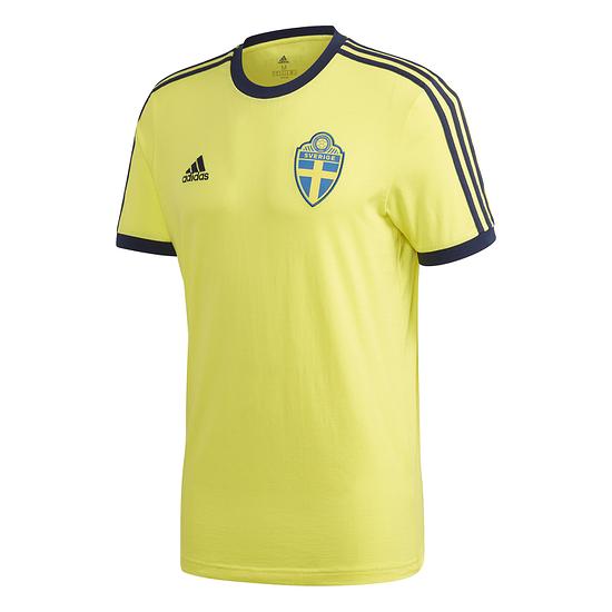 Adidas Schweden T-Shirt EM 2021 Gelb