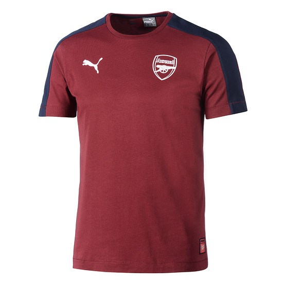 Puma FC Arsenal T-Shirt Fan T7 rot