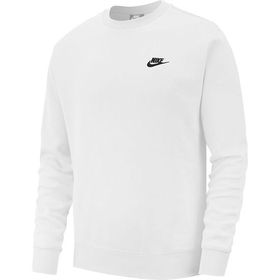 Nike Sweatshirt Club Uni Weiß