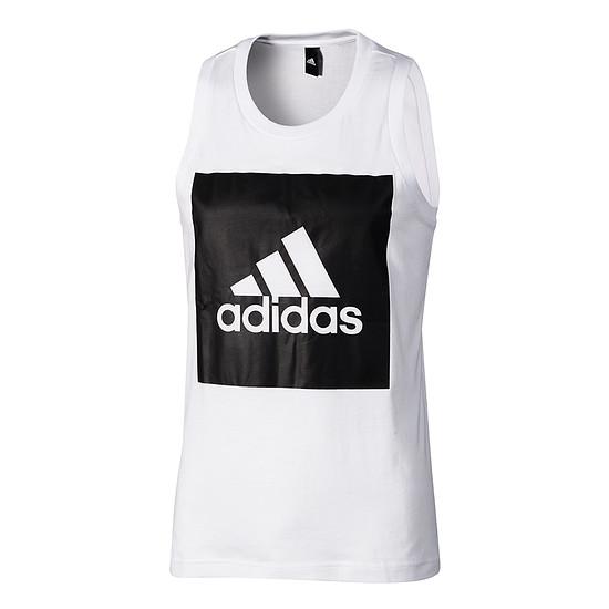 Adidas Tanktop ESS weiß/schwarz