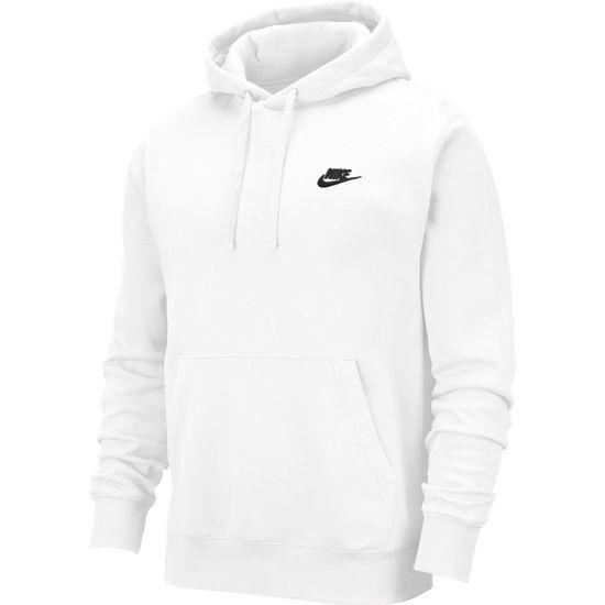 Weißer Nike Hoodie