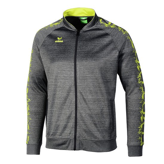 Erima Trainingsjacke GRAFFIC 5-C grau/limette
