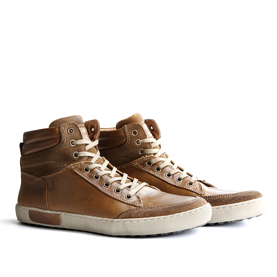 TRAVELIN OUTDOOR Sneaker Aberdeen High cognac