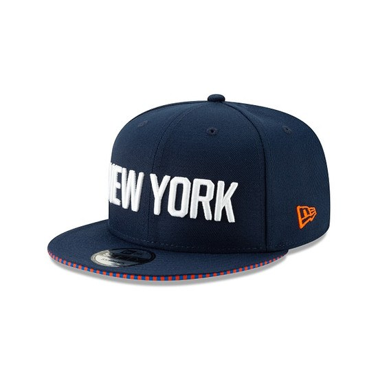 New Era New York Knicks Cap 9FIFTY Team blau/orange