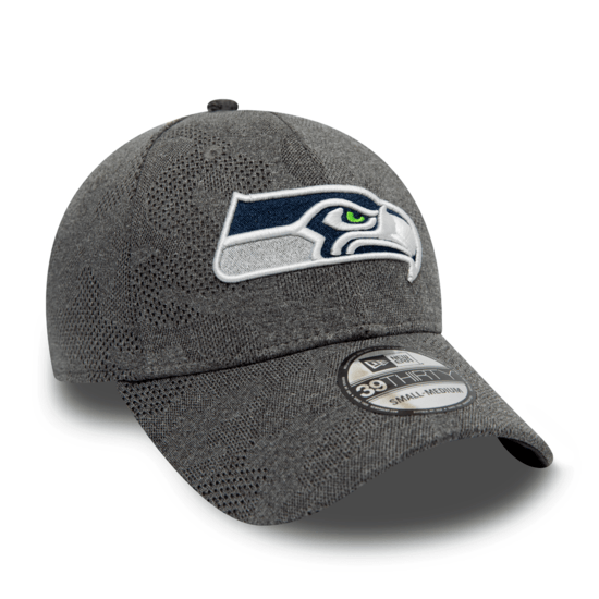 New Era Seattle Seahawks Cap Engineered Plus 39THIRTY grau